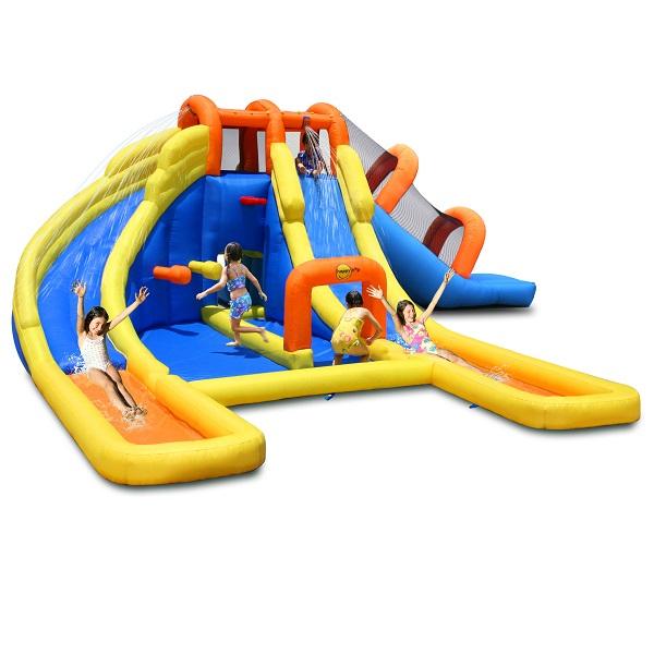 Happy Hop springkussen Opblaasbare Mini Water Park 735 x 630cm 9045