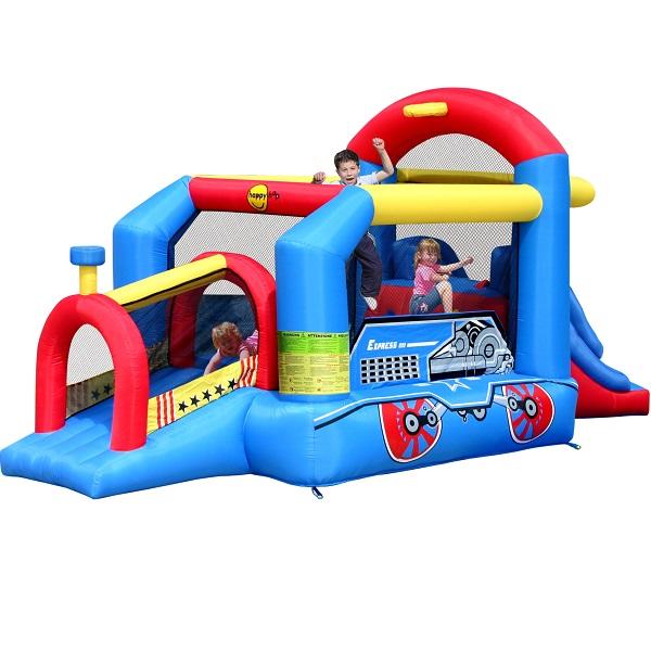 Happy Hop springkussen Bouncy Train 9054N