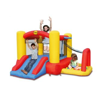 Happy Hop springkasteel 4 in 1 Playcenter 9450