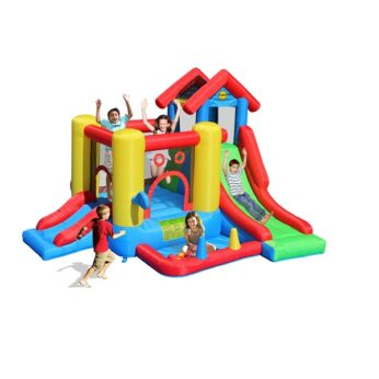 Happy Hop springkasteel 7 in 1 Playcenter 9019