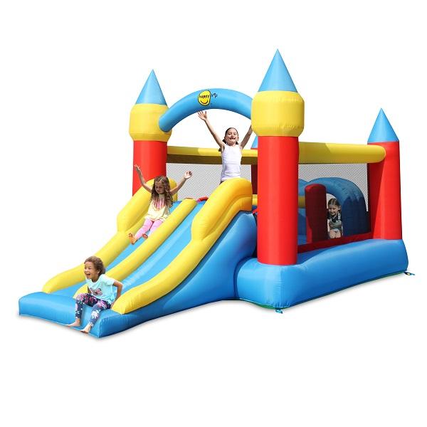Happy Hop springkasteel Slot Elsa 9474